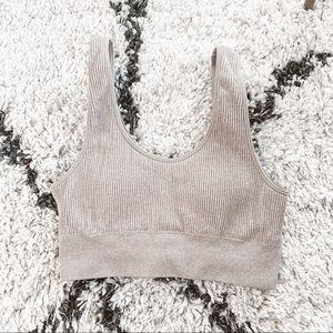 Aerie ribbed sports bra